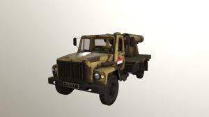 3D pbr golan 400 gaz-3308