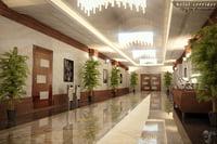 hotel hall model