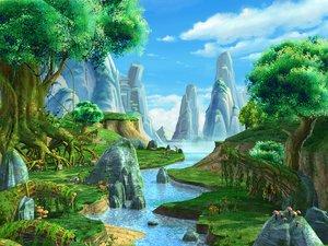 river scene 3D
