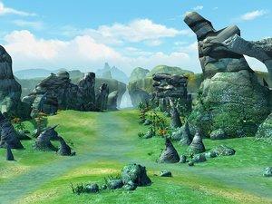 3D scene model