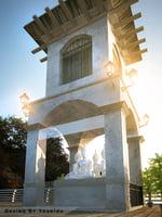 3D buddhist tower model