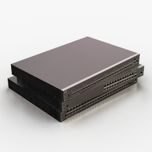 cisco network switch 3D model