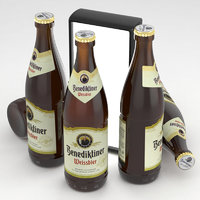 beer bier weissbier 3D model