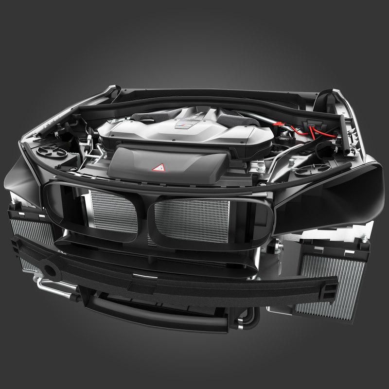 3D model x5m f85 x6m f86