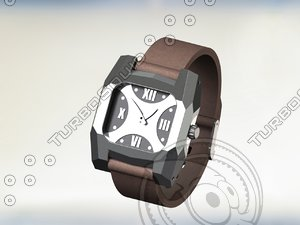 3D file watches model