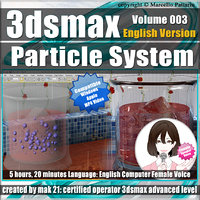 3ds max Particle System Vol.3 English