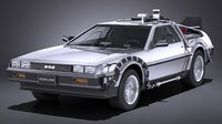 delorean future ep1 3D