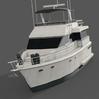 3D yacht games water