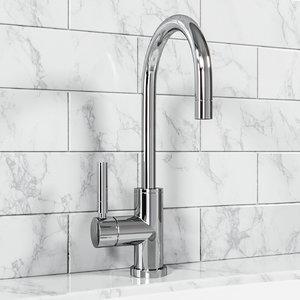 3D model hampton sink faucet