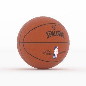 spalding ball 3D model