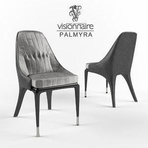 3D visionnaire palmyra model