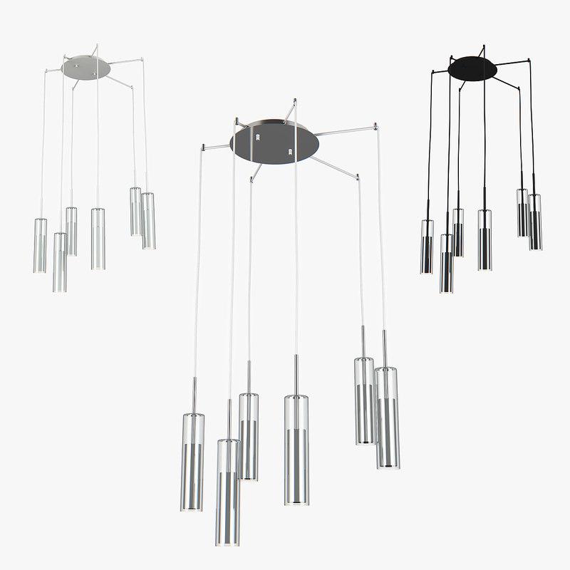 3D chandelier cilino lightstar