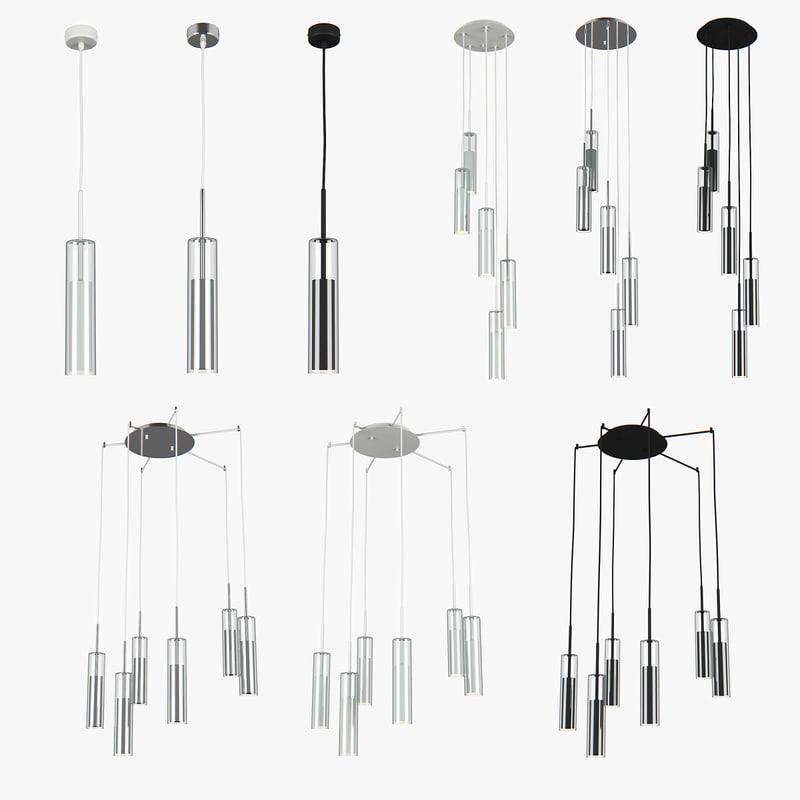 chandelier cilino lightstar 3D