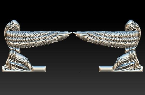 3D ark covenant stl cnc
