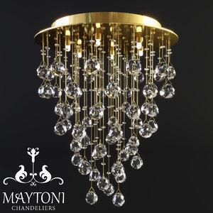 maytoni modern rockfall mod207-45-g 3D
