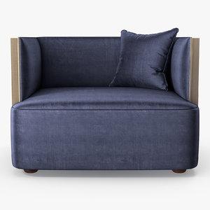 3D model promemoria - boccaccio chair