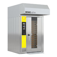 rack oven miwe 3D model