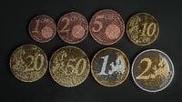 Realistic Euro Coins - Low poly 3D models