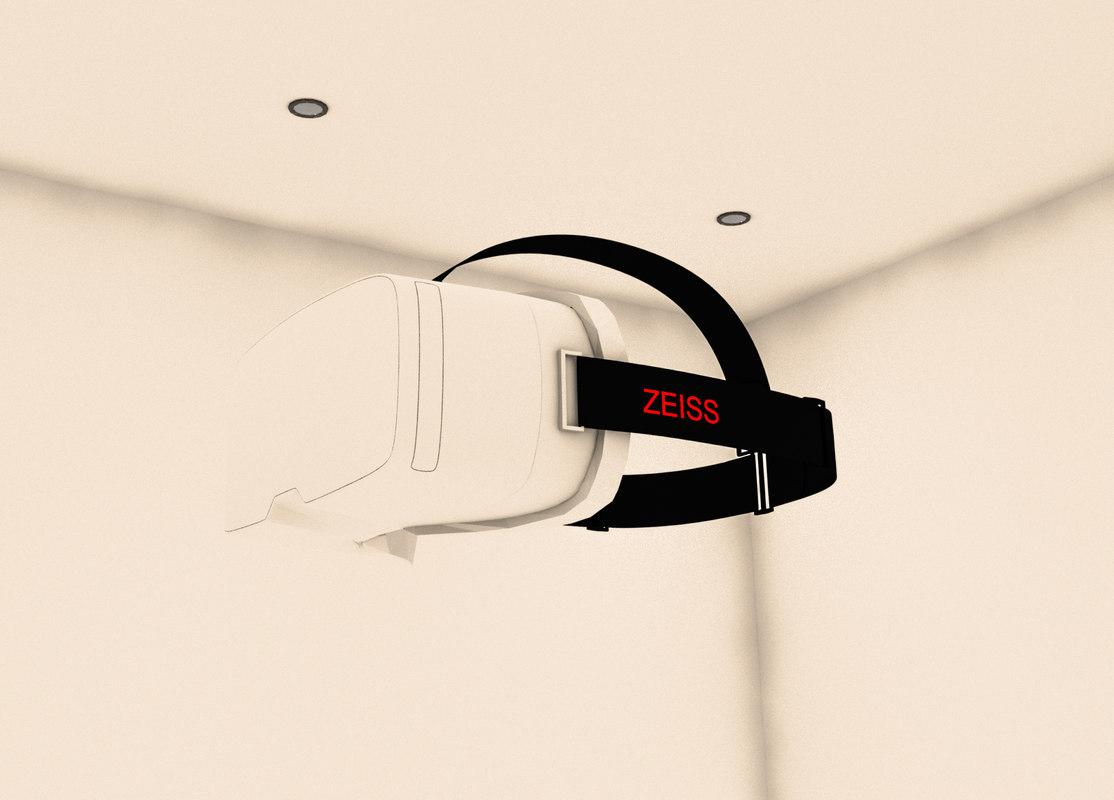 virtual reality glasses revit 3D model