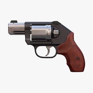 3D revolver kimber k6s custom