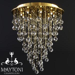 3D model maytoni modern rockfall mod207-55-g