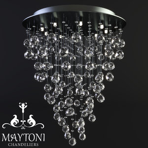 maytoni modern rockfall mod207-55-n model
