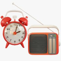 Transistor Radio and Alarm Clock