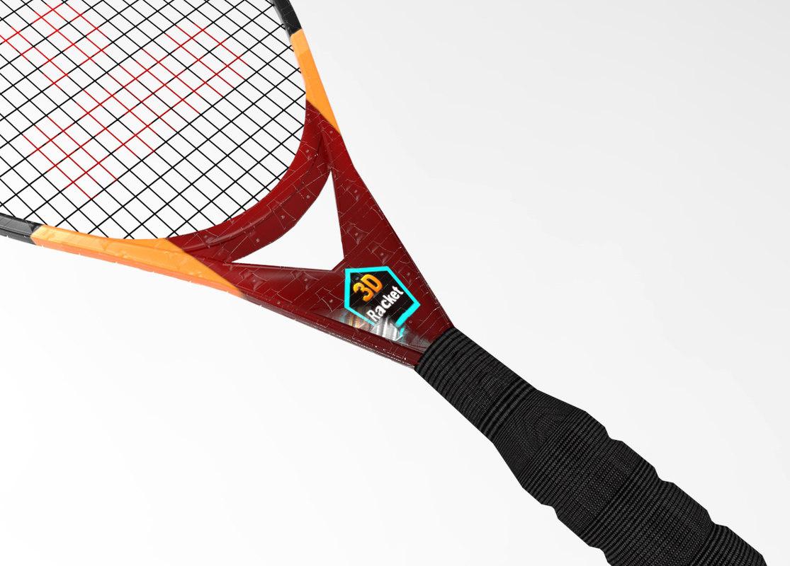 tennis racket model