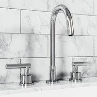 exton lever-handle widespread bathroom 3D model