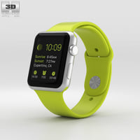 3D apple watch sport