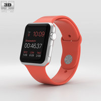 apple watch sport 3D model
