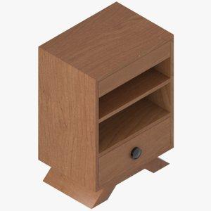 3D classical cabinet