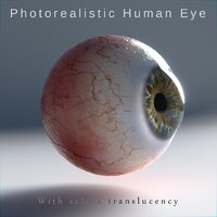 Human eye Photorealistic