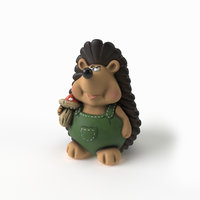 garden hedgehog 3D model