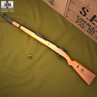 3D karabiner 98k model