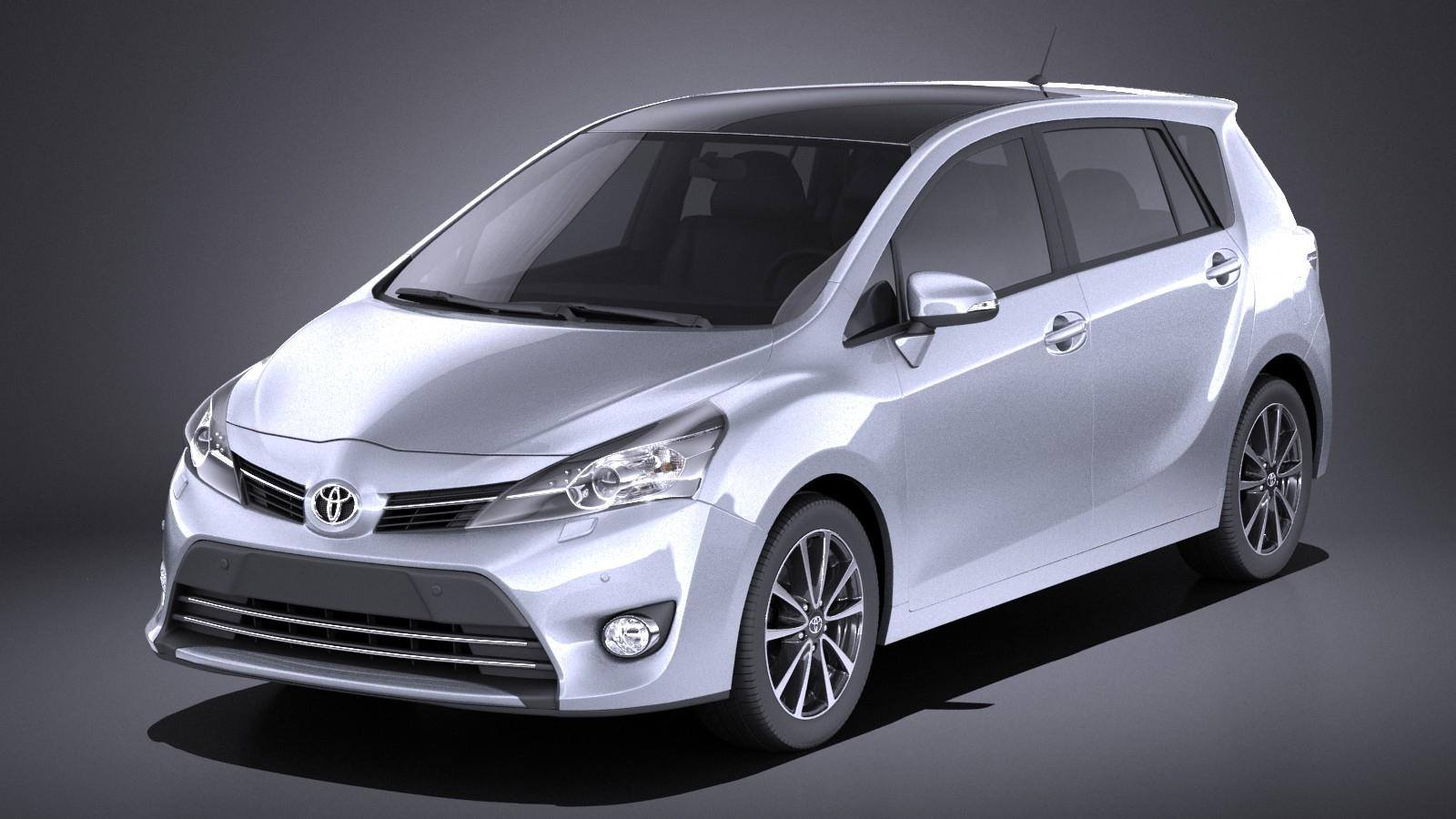 Toyota 2016 Models >> Toyota Corolla Verso 2016 Vray