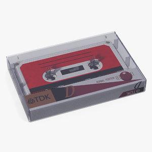 vintage tape box model