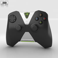 nvidia wireless shield 3D model