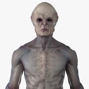 3D alien rig genitals