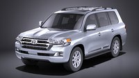 3D cruiser toyota land model