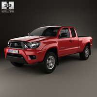 toyota tacoma access 3D model