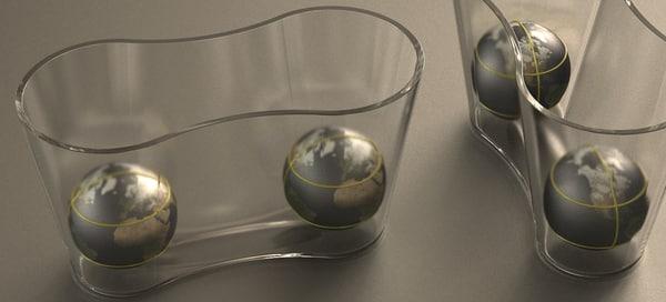 3D nordst kunz dimple vase model