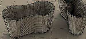 kunz dimple vase 2018 3D model