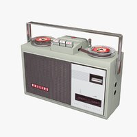 3D philips transistor 1960s model