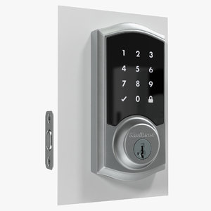 3D touchscreen smart wireless lock