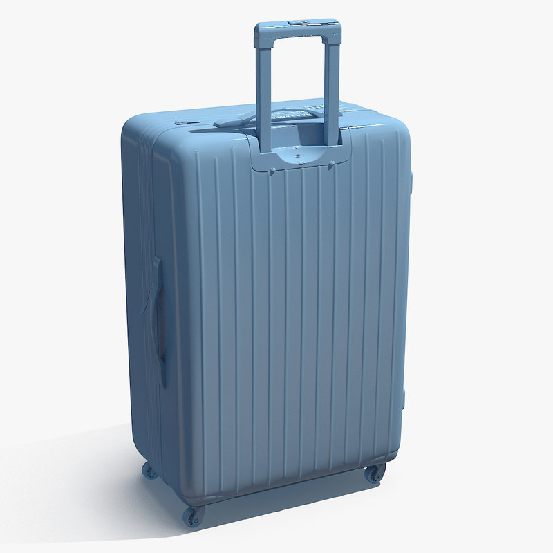 travel bag 3d model