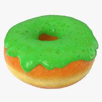 green donut 3D