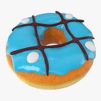 mint donut 3D model