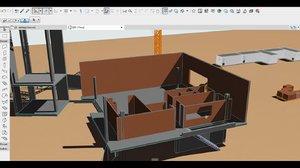 3D archicad building
