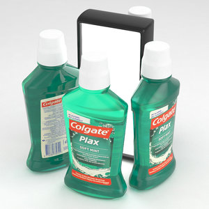 3D colgate plax mouthwash